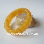 Vòng đeo tay tẩy uế hổ phách Myanmar S5002 20533