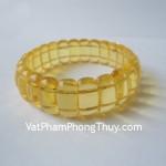 Vòng đeo tay tẩy uế hổ phách Myanmar S5003 9338