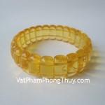 Vòng đeo tay tẩy uế hổ phách Myanmar S5003 9396