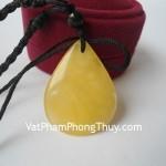 Mặt dây chuyền tẩy uế hổ phách Myanmar S5006 2403