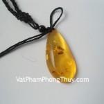 Mặt dây chuyền tẩy uế hổ phách Myanmar S5007 3013