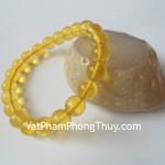 Vòng đeo tay tẩy uế hổ phách Myanmar S5004 3900